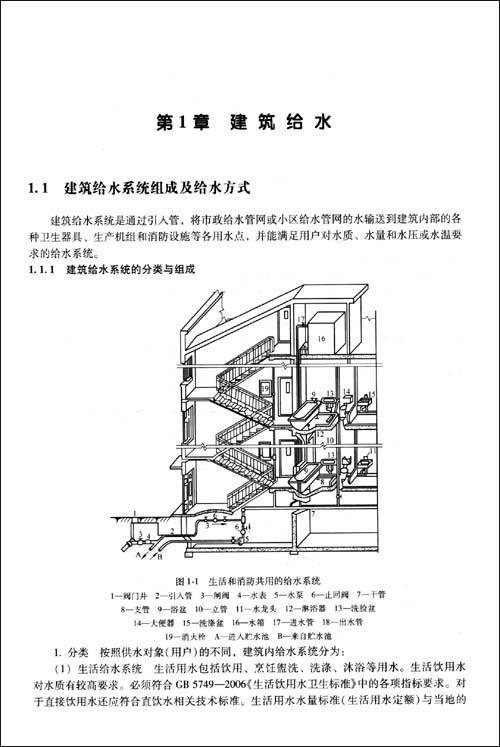 建筑给排水施工图的识读