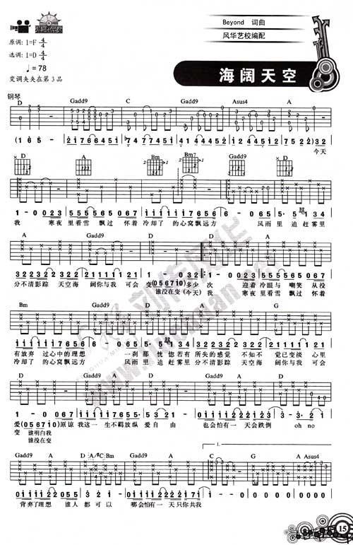 50首双吉他谱