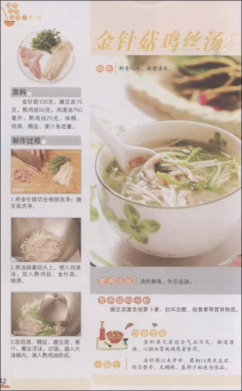 芡实冬瓜猪腱汤 冬瓜薏米猪肚汤 红枣茶树菇排骨汤 黑木耳红枣猪蹄汤