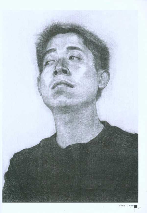 基础素描 素描头像教程-郭伦峰