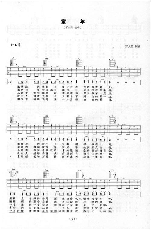 摇篮曲简谱歌谱c调-c大调的流行歌曲简谱