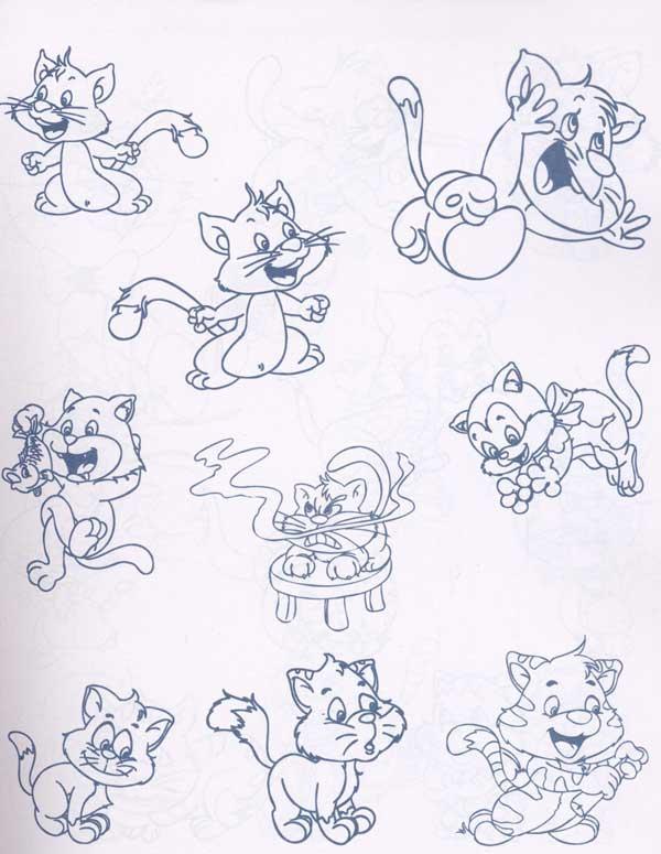 儿童简笔画动物驴