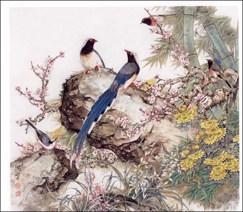 《工笔梅兰竹菊画法》()【简介|评价|摘要|在线阅读