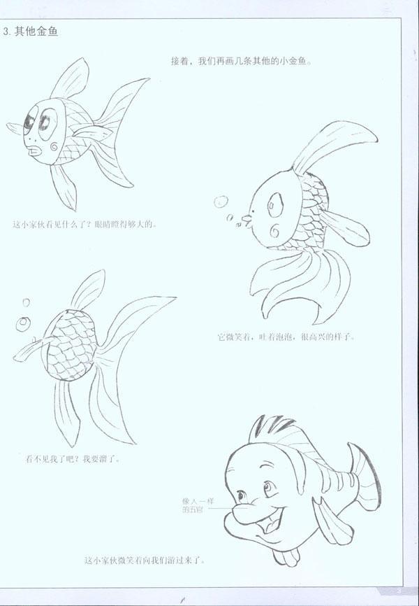 第一章卡通动物的画法