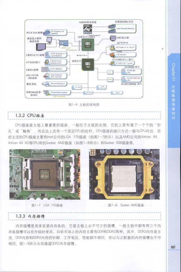 5.5 主板bios和cmos电路  1.5.6 主板接口电路  1.