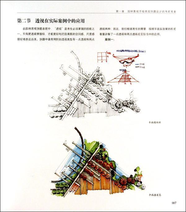 园林景观手绘表现-刘红丹-艺术-文轩网
